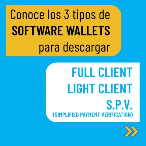 3 Tipos de Software Wallets para descargar